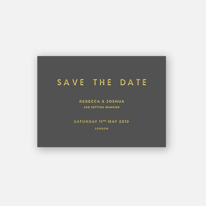 Romeo Save the Date