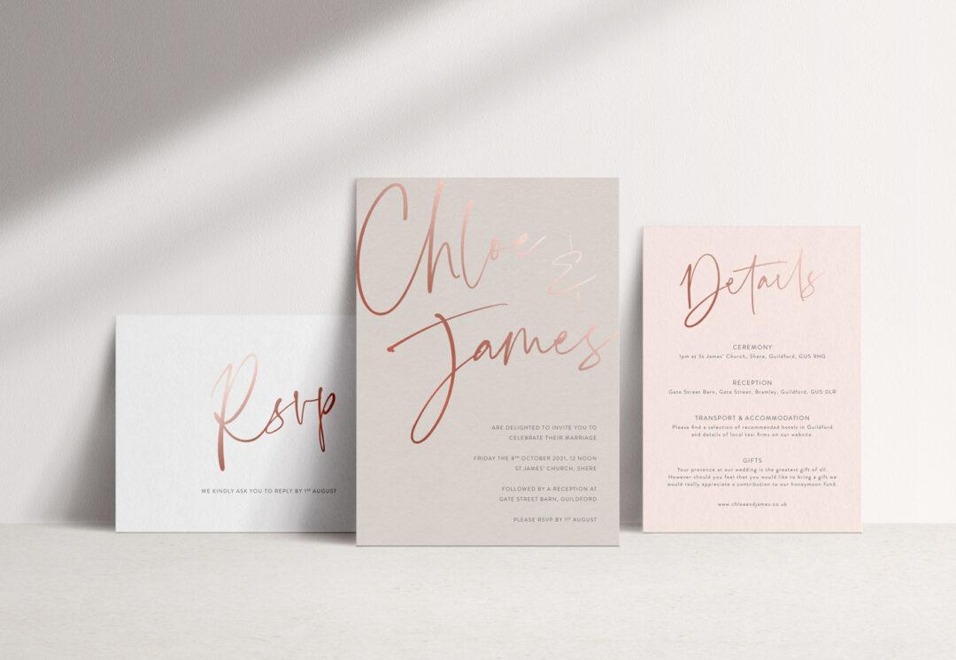 Juliet Wedding Invitation Suite