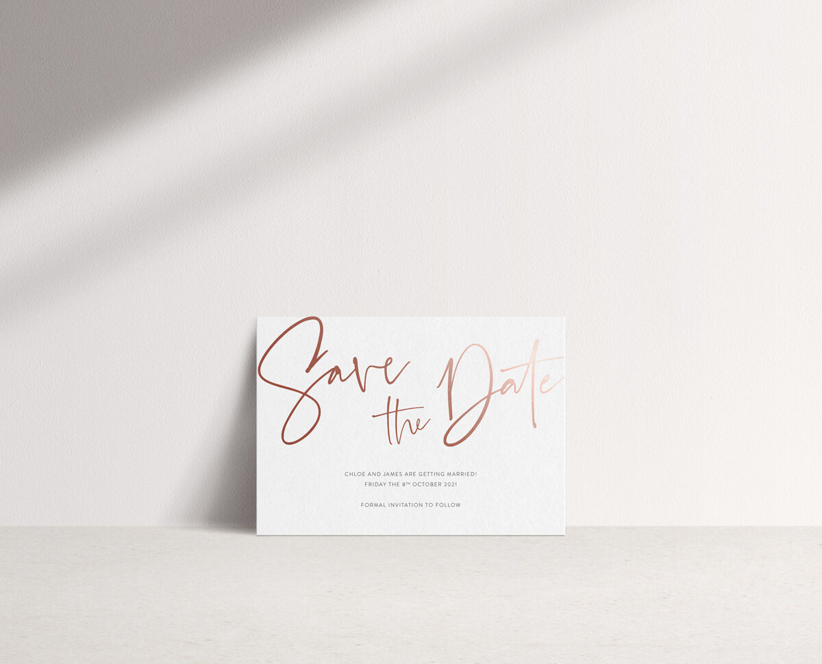 Juliet Save the Date Card