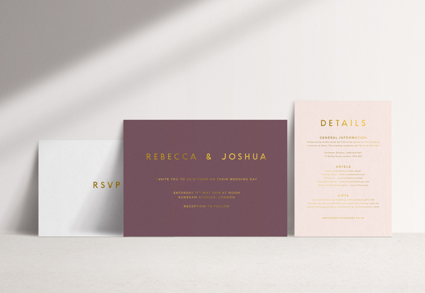 Romeo Invitation Suite