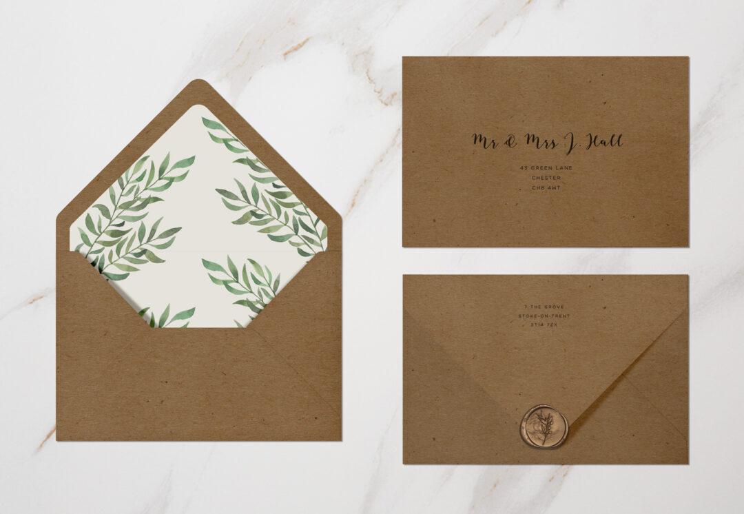 Verona Envelopes