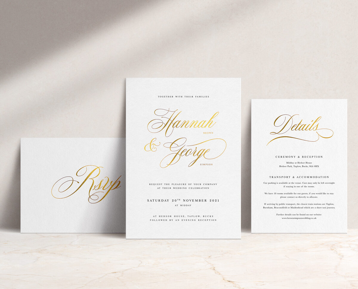 Windsor Invitation Suite