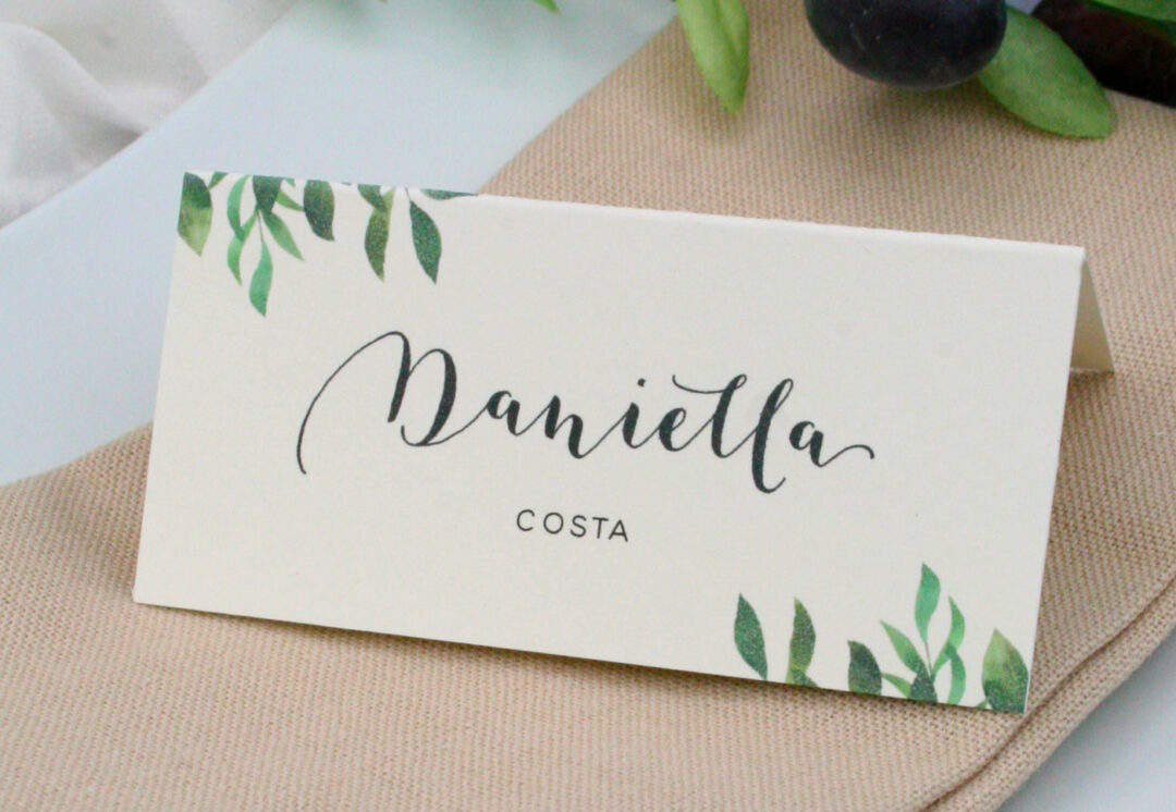 Verona - Place Card
