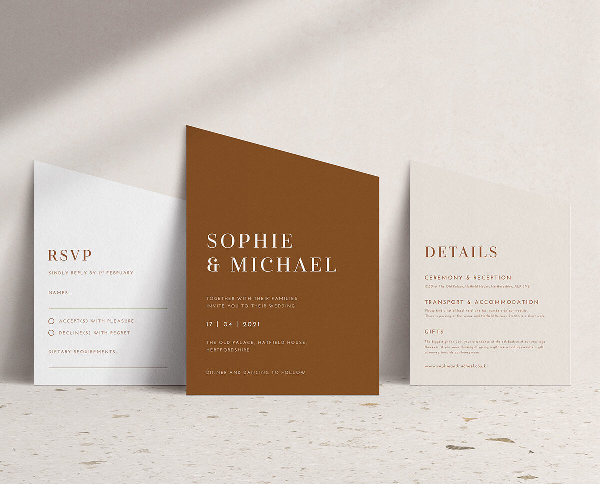 Cleopatra Invitation Suite