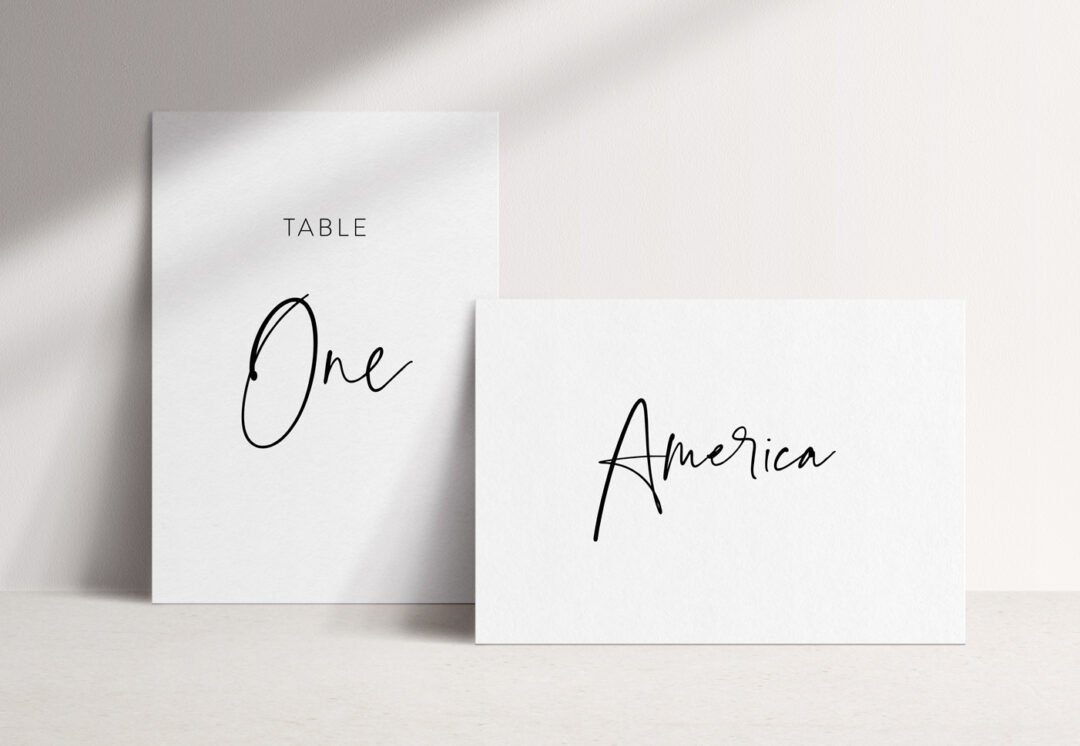 Juliet Table Name / Number