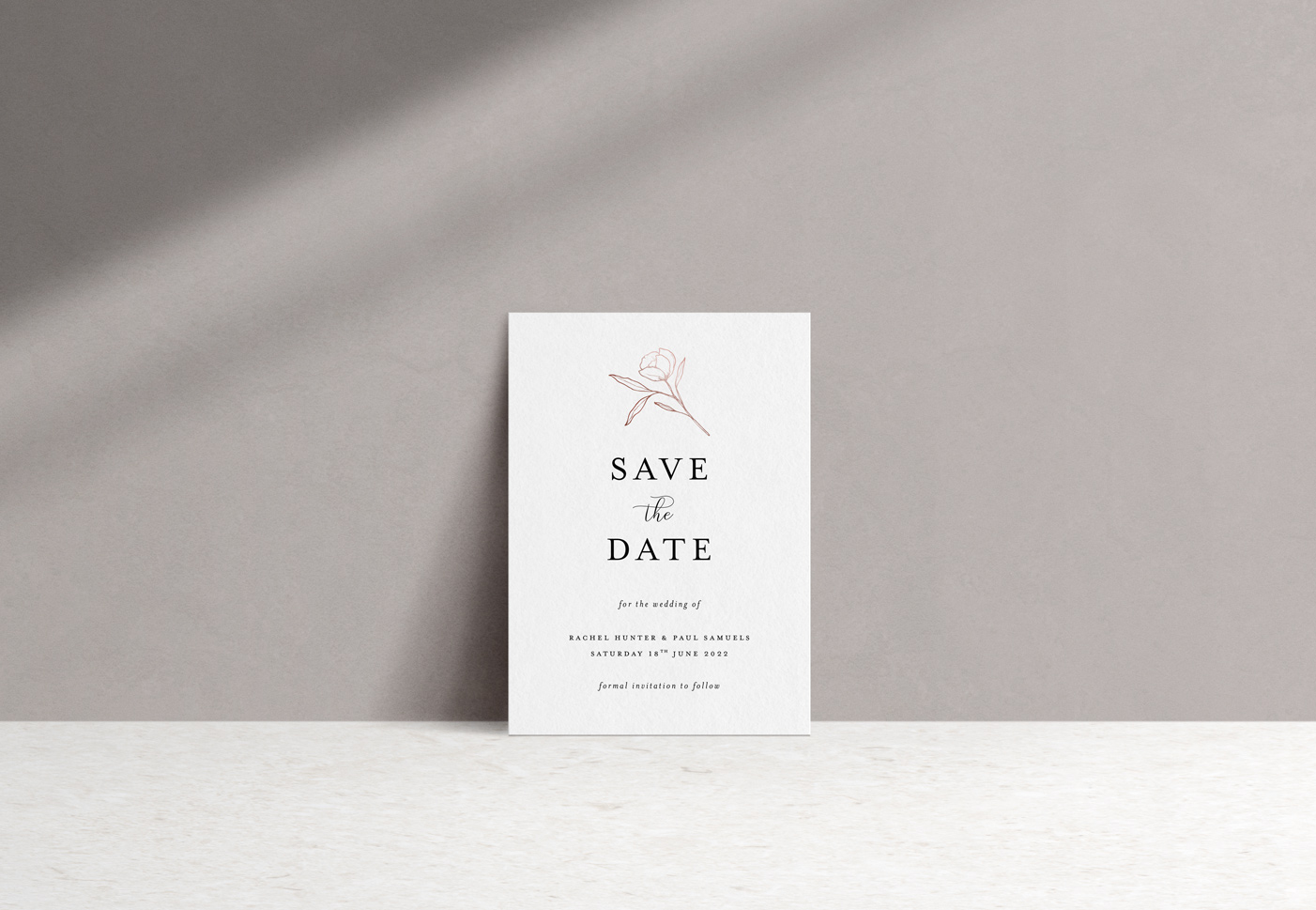 Ophelia Save the Date