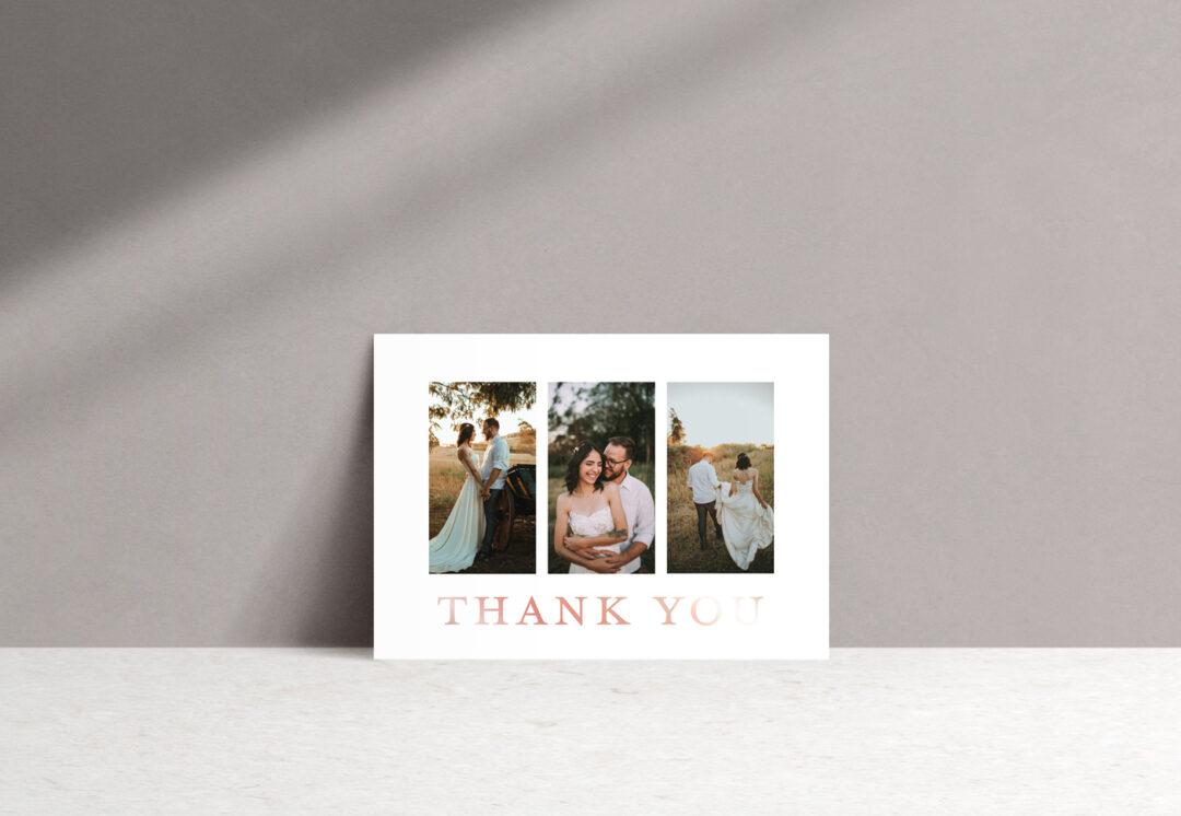 Ophelia Thank You Card