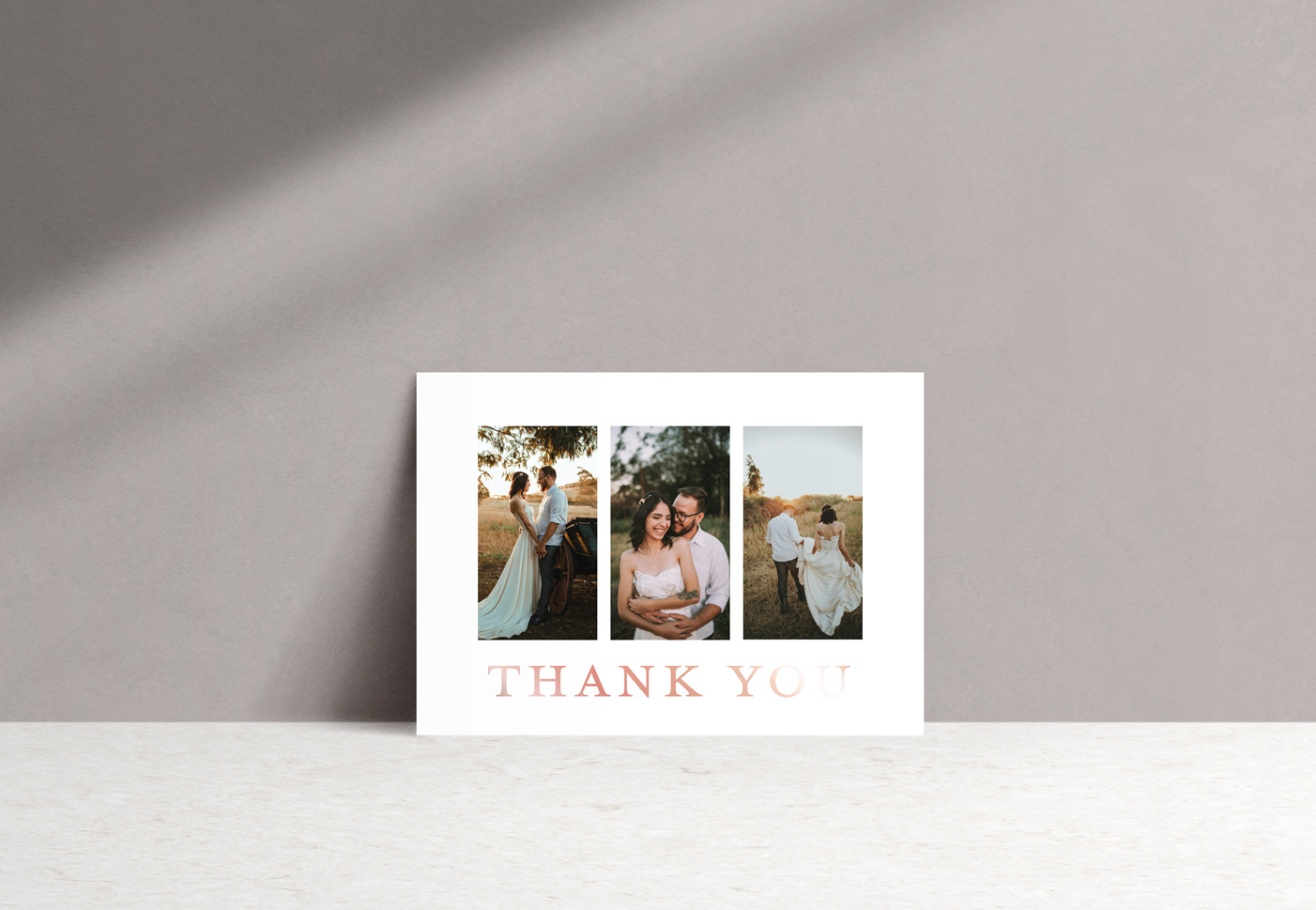 Ophelia Thank You Card