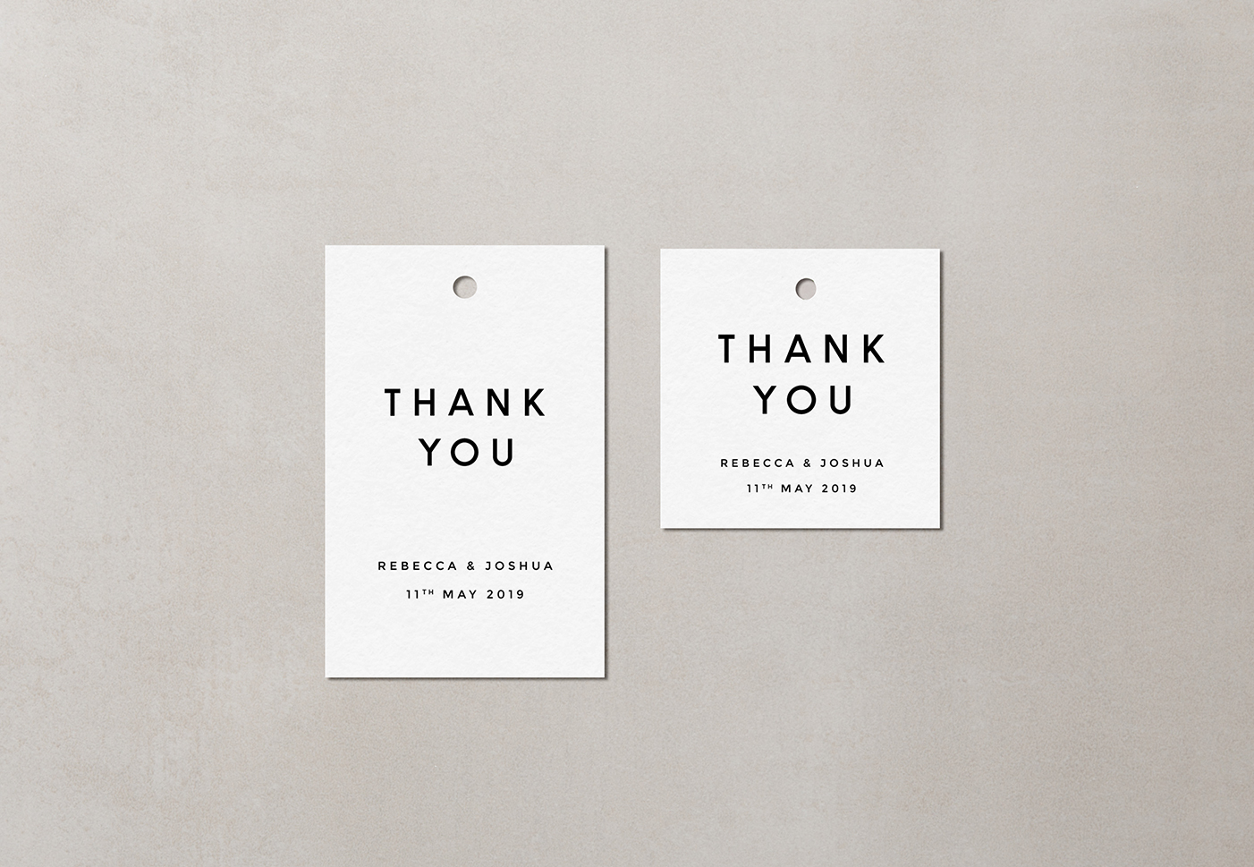 Romeo Favour Tags
