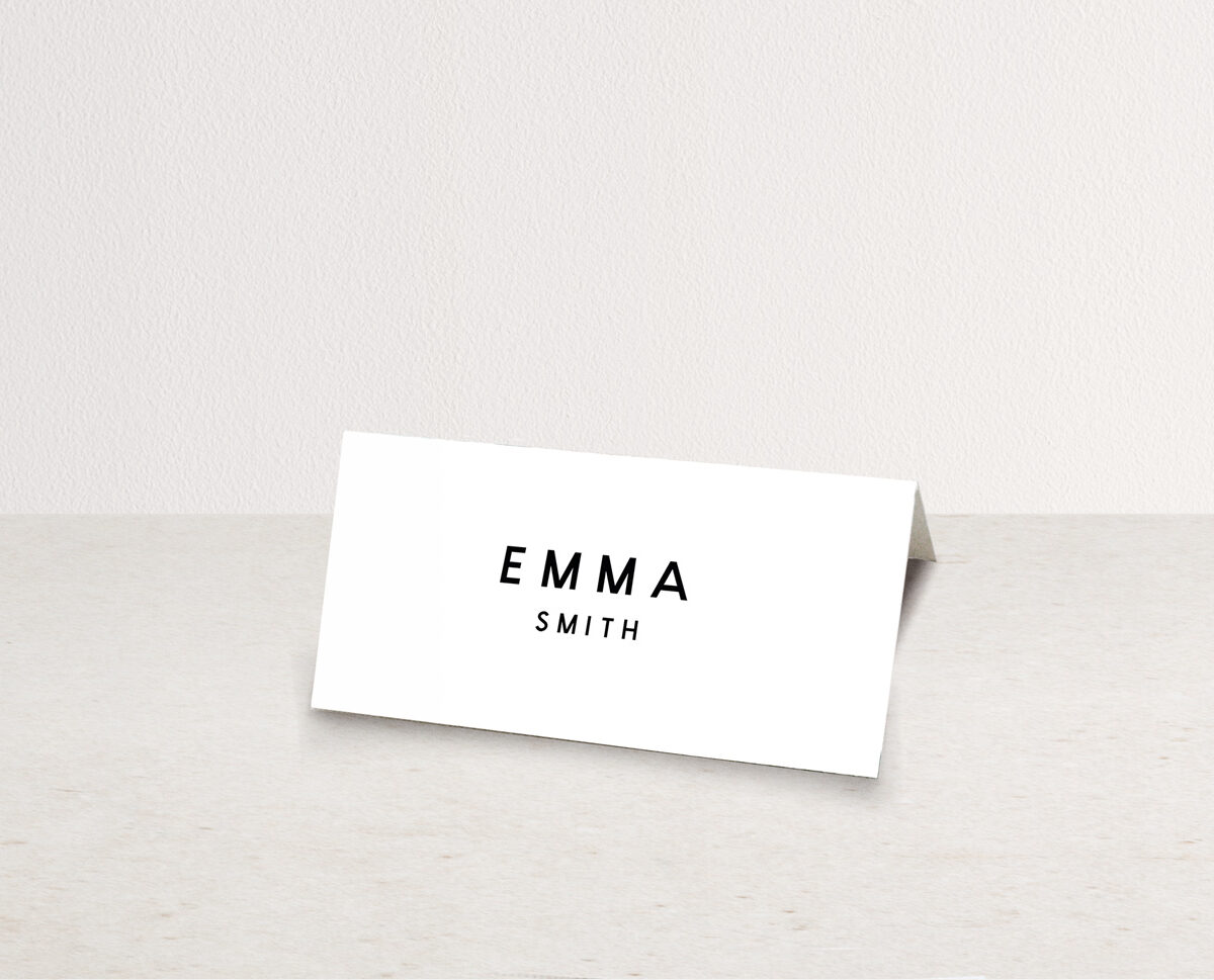 Romeo Place Card
