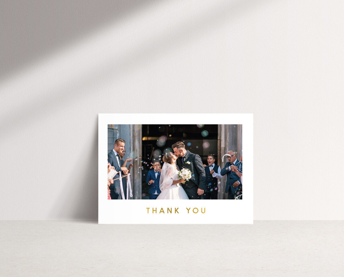 Romeo Thank You Card
