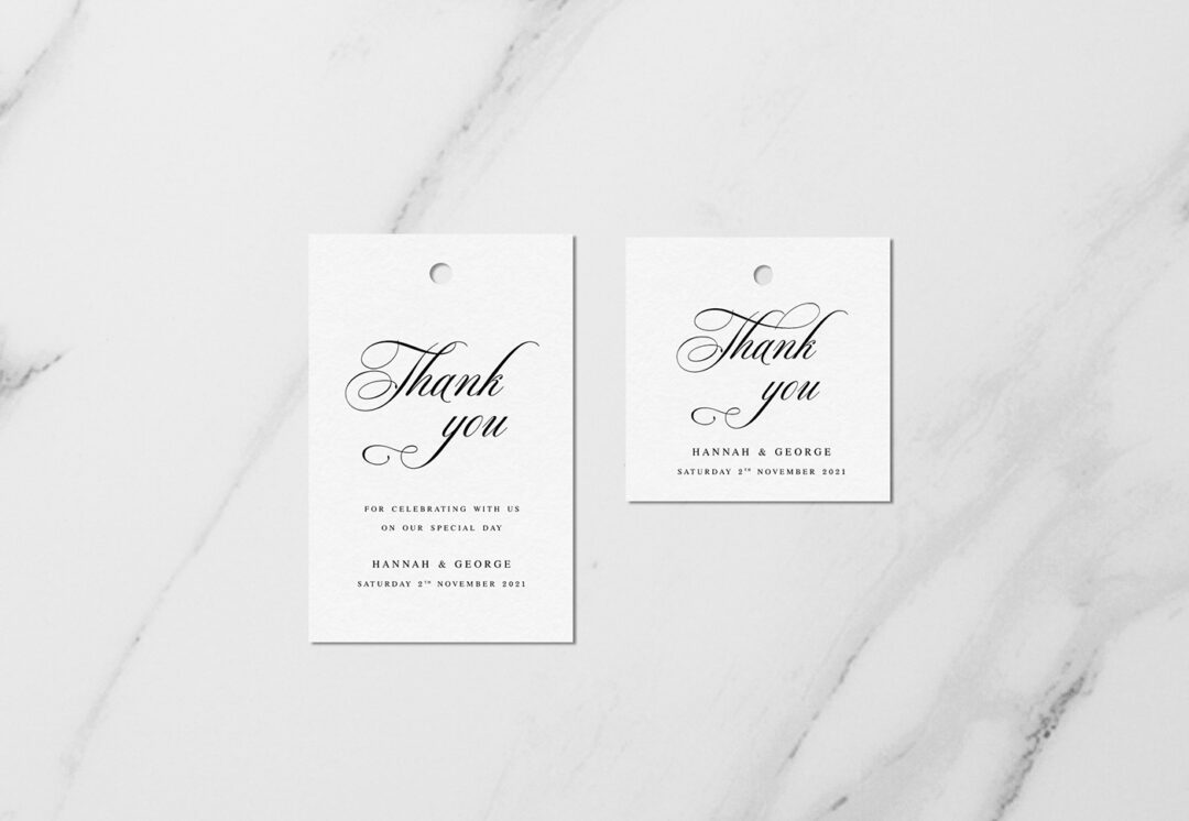 Windsor Favour Tags