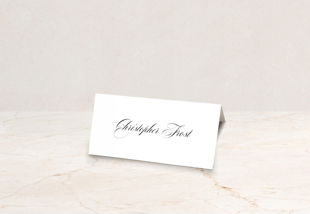 Windsor Place Card