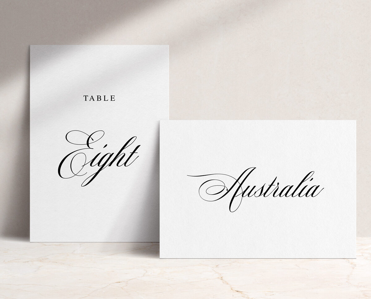 Table Name / Numbers
